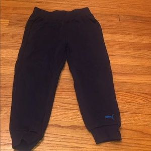 Puma toddler navy sweatpants